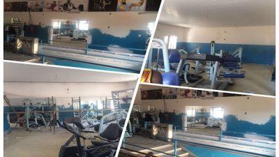 O Centro de Atividades Físicas Armando Oliveira dos Santos está com 70% das obras adiantadas