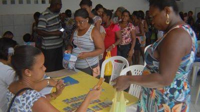 Foram entregues 452 cartões do PAS Mais para Muribeca, Engenho de Baixo, Ferrolho e Ilha das Fontes
