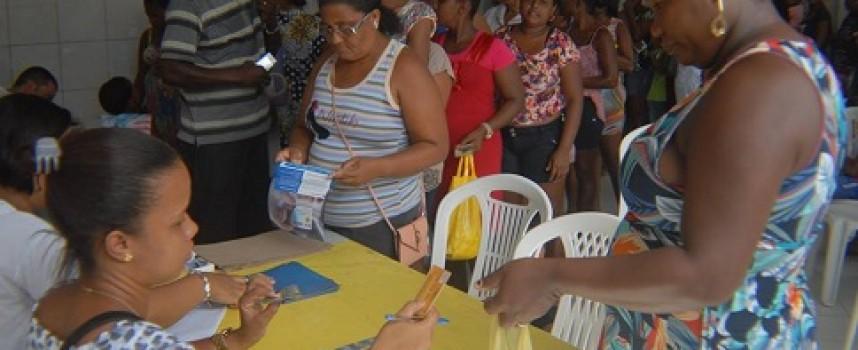 Foram entregues 452 cartões do PAIS Mais para Muribeca, Engenho de Baixo, Ferrolho e Ilha das Fontes