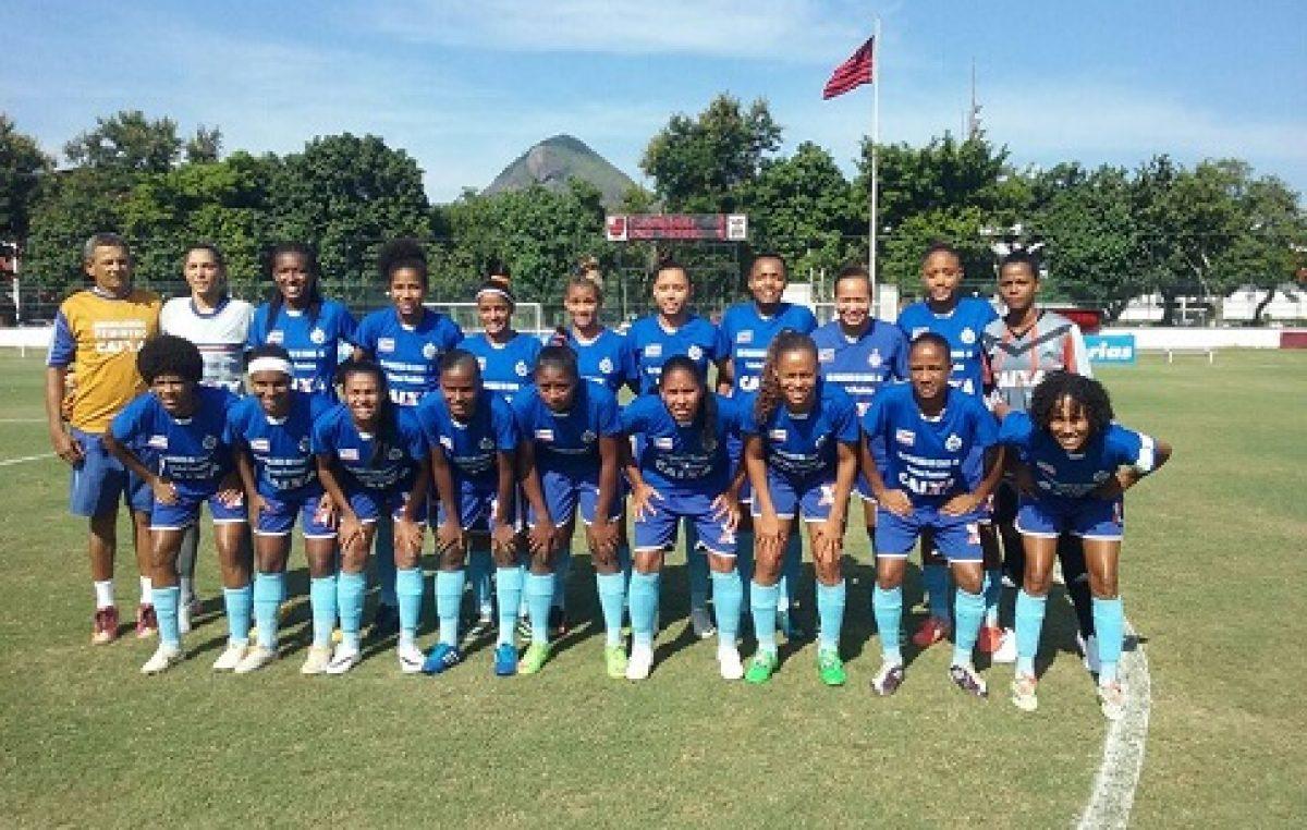 Time feminino empatou com o Flamengo e está  classificado para as quartas do Brasileirão