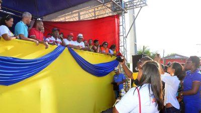 Prefeitura entregou quadra poliesportiva coberta para a comunidade do Socorro