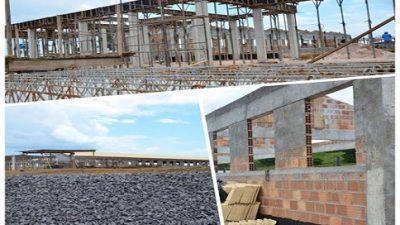 Obras do Complexo Escolar Rilza Valentim estão em ritmo acelerado