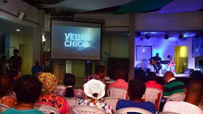 """Lançamento da novela """"Velho Chico"""" reuniu um grande público no Mercado Cultural de São Francisco do Conde"""