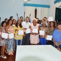 Foram empossados, nesta quarta-feira (09), os Conselheiros Municipais de Cultura