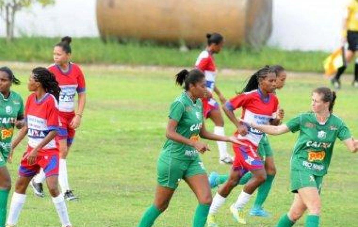São Francisco do Conde Esporte Clube enfrentou a atual campeã pelo Campeonato Brasileiro de Futebol Feminino