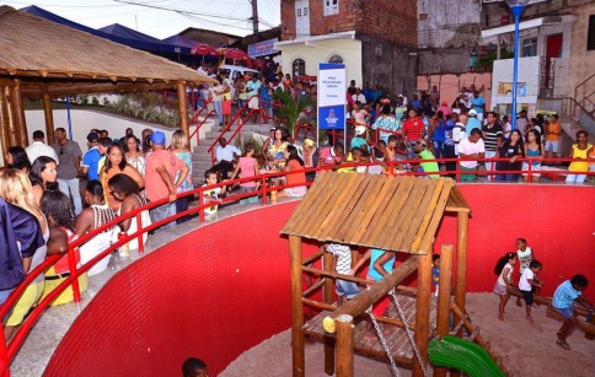 TranSFormar: Prefeitura entrega Praça Delcio dos Reis Cardoso, na Pitangueira