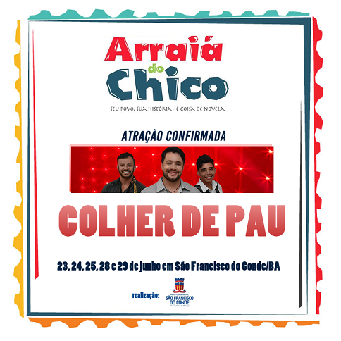 arraia do chico 2016 colher de pau
