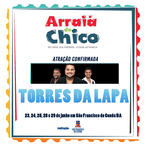 arraia do chico 2016 torres da lapa