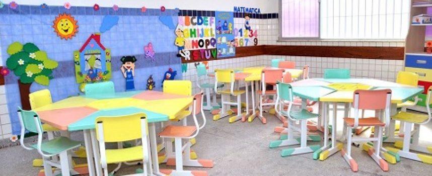 É trabalho! Escola Ana Tourinho Junqueira Ayres passou por reforma e ampliação completa