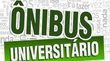 Cronograma do serviço de transporte universitário no período de recesso junino e férias de julho