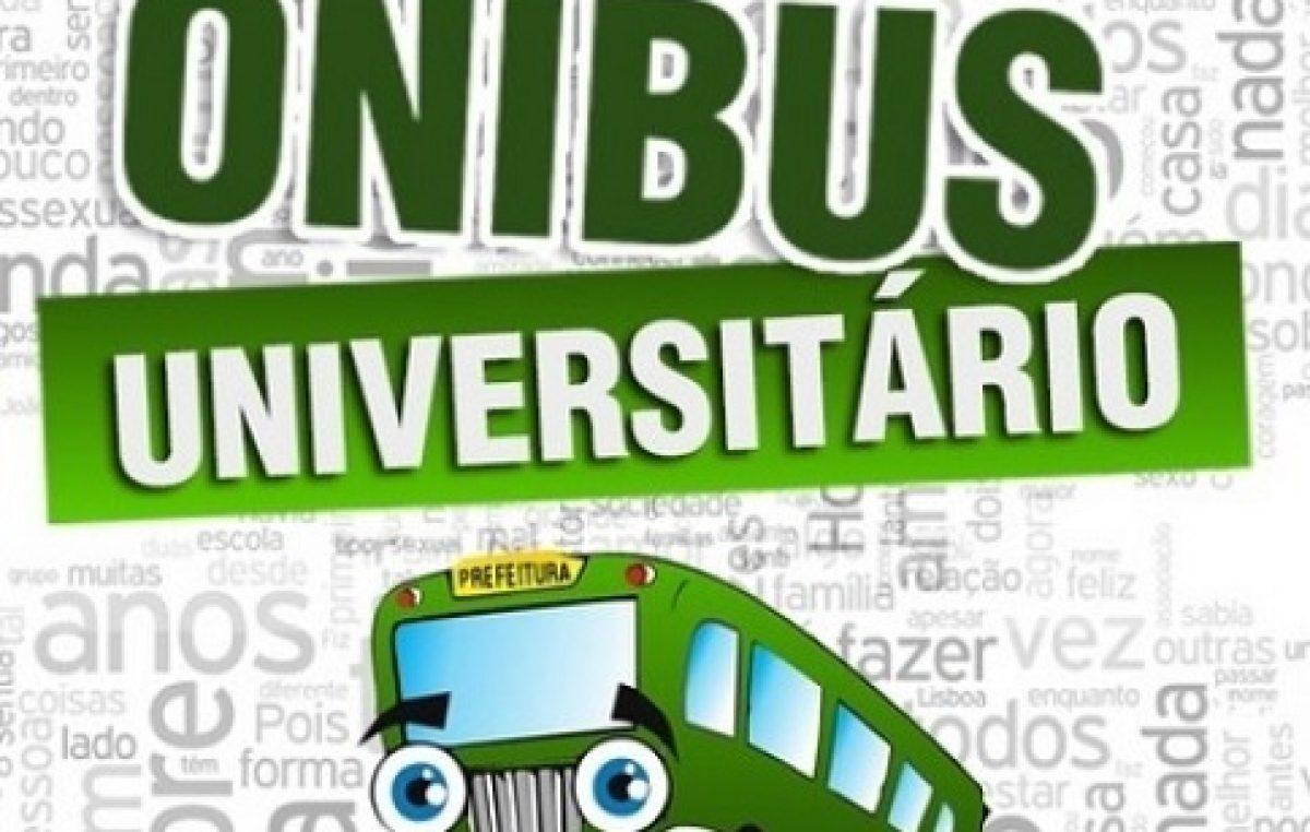 SEDUC divulga o Cronograma do Transporte Universitário durante o recesso acadêmico 2019.1