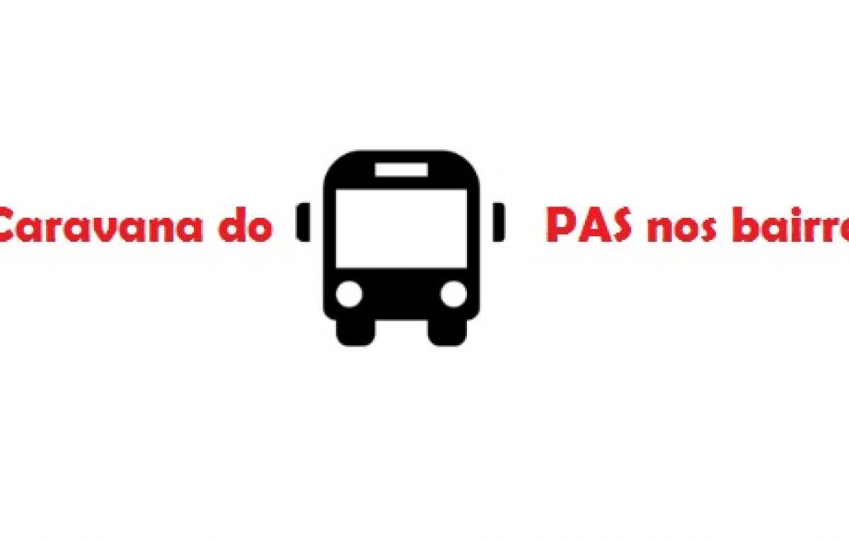 SEDES realizará Caravana do PAS nos bairros do município a partir desta segunda (01)