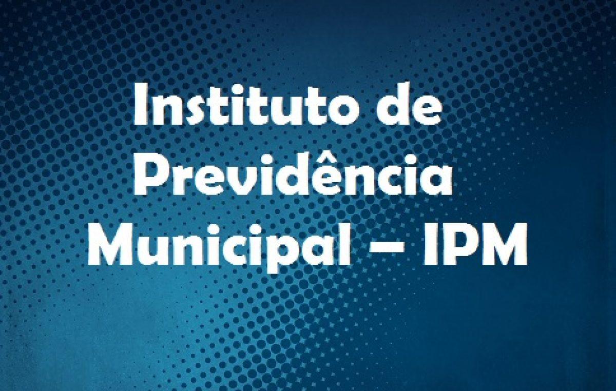 IPM realizará recadastramento de aposentados e pensionistas no período de 02 a 30 de setembro