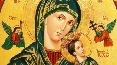 Homenagens a Nossa Senhora do Perpétuo Socorro seguem até o dia 08 de setembro