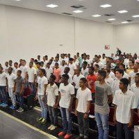 Cerimônia de Entrega do Certificado de Dispensa de Incorporação (CDI) certificou cerca de 90 jovens franciscanos