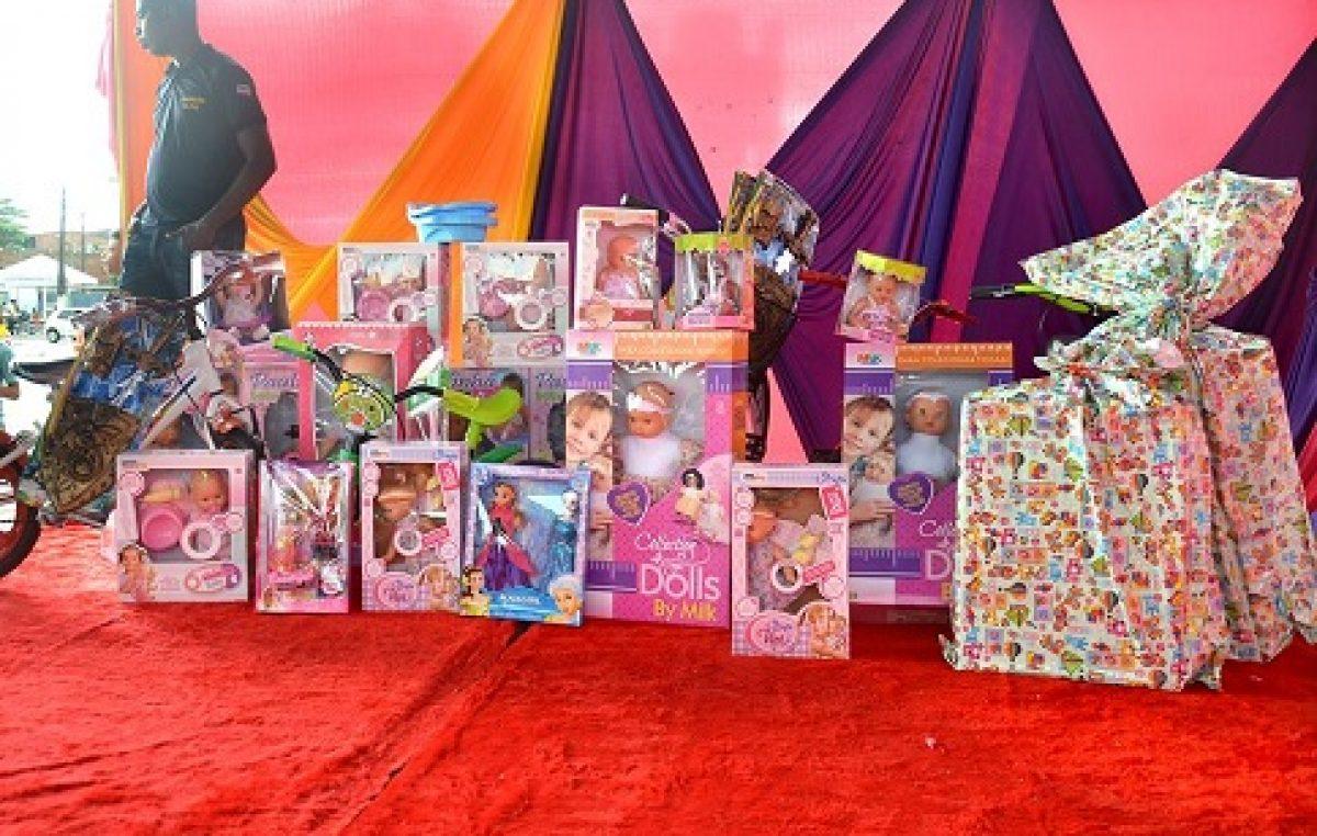 Festa do Dia das Crianças será realizada nesta quinta-feira (12), no bairro do Caípe