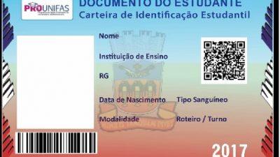 PROUNIFAS está convocando os universitários para a confecção do documento do estudante