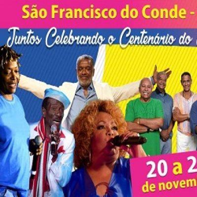 Festival do Samba 2016 em São Francisco do Conde