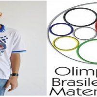 Estudante franciscano foi premiado na 12ª Olimpíada Brasileira de Matemática das Escolas Públicas