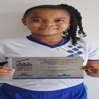 Estudante franciscana é premiada pelo MEC em concurso estadual