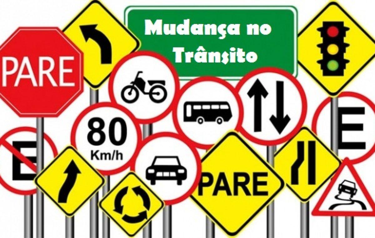 Departamento de Trânsito e Transportes informa sobre alteração de roteiro nos dias 19, 20 e 21 de fevereiro