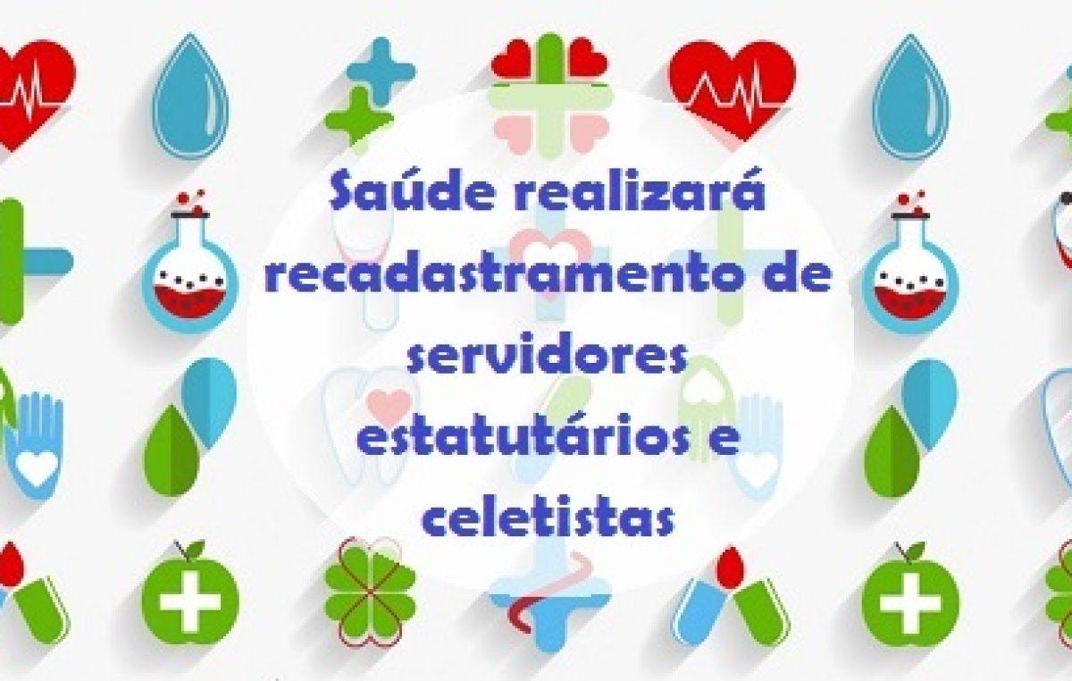 Recadastramento de servidores estatutários e celetistas da SESAU encerra na sexta (16)