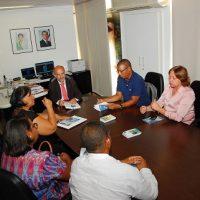 Representantes da SEDEC estiveram em reunião com secretário de Trabalho, Emprego, Renda e Esporte do Estado da Bahia
