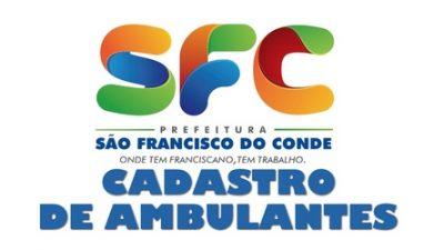 Cadastro de ambulantes para os Festejos de Nossa Senhora da Conceição da Praia começa dia 22 de novembro (Quinta-feira)