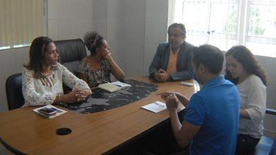 Representantes do IPAC realizaram visita em São Francisco do Conde para firmar parceria com o município