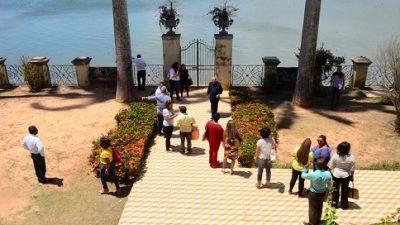 Governos municipal e estadual estreitam relações e realizam visita no Casarão da Ilha de Cajaíba