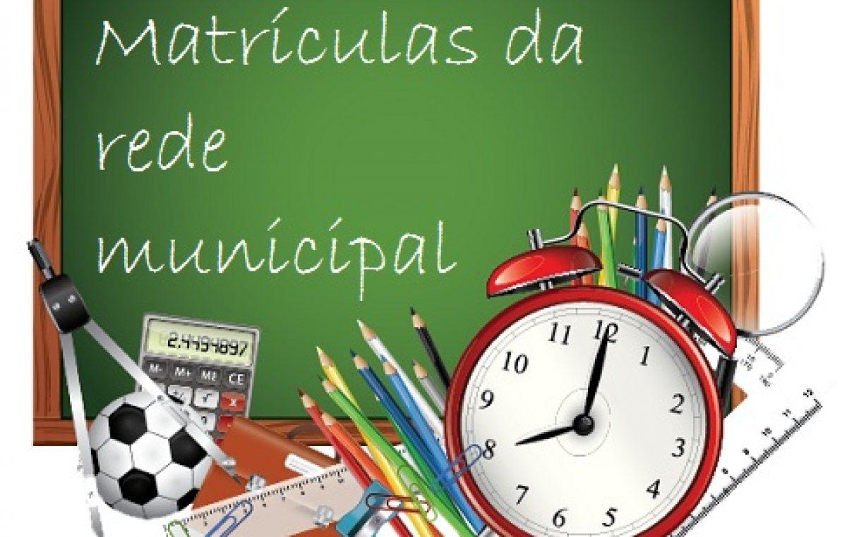 Confirmação de matrícula da Educação Infantil acontecerá na próxima semana
