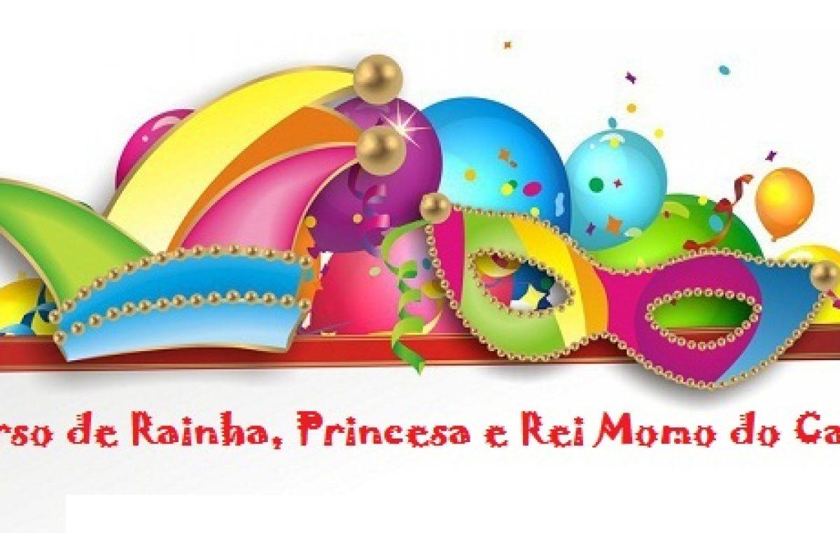SECULT segue com inscrições para Concurso de Rainha, Princesa e Rei Momo do Carnaval 2017