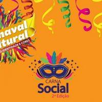 2ª edição do Carna Social será realizada no dia 22 de fevereiro