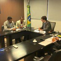 Em Brasília, prefeito e secretários buscam apoio e recursos para conclusão de projetos em São Francisco do Conde