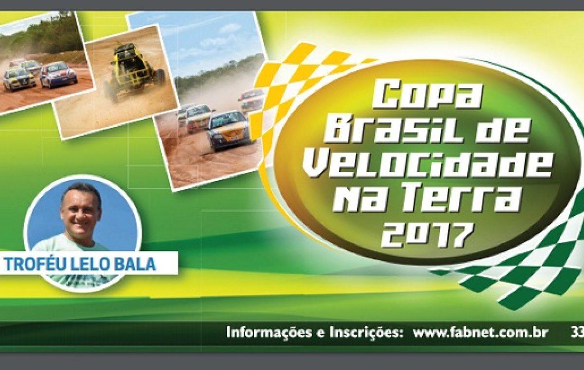 Copa Brasil de Velocidade na Terra acontecerá nos dias 25 e 26 de março, no Autódromo Internacional da Bahia