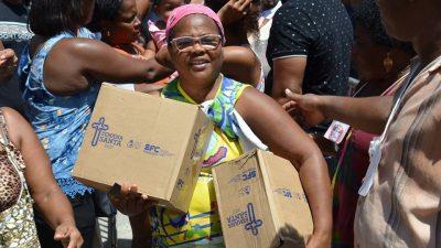 Balanço de entrega da Semana Santa: toneladas de peixe foram distribuidas