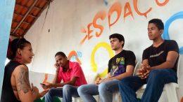 Secretaria de Direitos Humanos, Cidadania e Juventude (SDHCJ) realizou  oficina teórica de Grafite e Cidadania