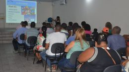"""SEDEC realizou palestra sobre empreendedorismo com o tema """"Porque Quero Empreender?"""""""
