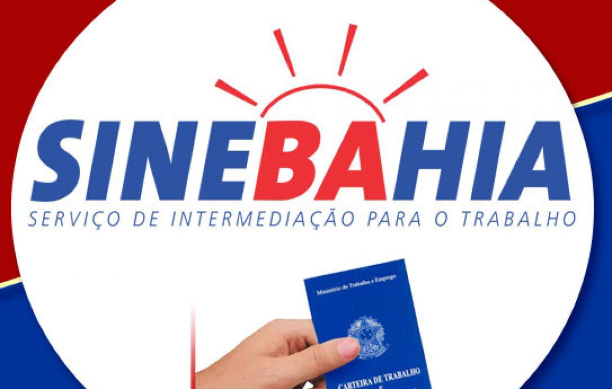 SineBahia oferece vaga de emprego até esta quinta-feira, dia 13 de junho
