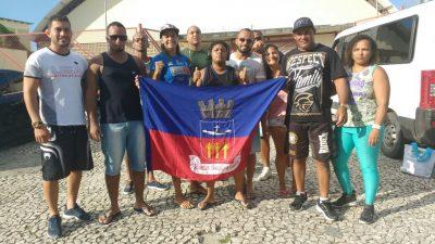 Equipe de São Francisco do Conde conquistou medalhas na 3ª etapa do Campeonato Baiano de Jiu-jitsu