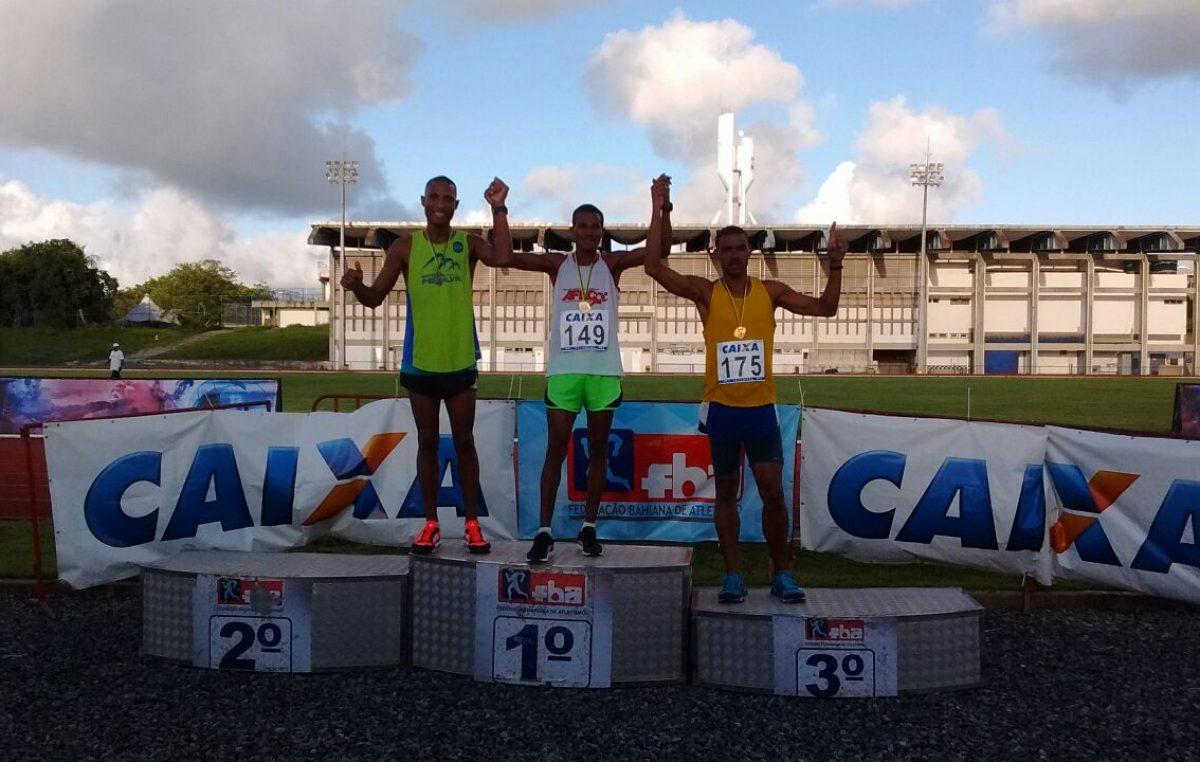 Atleta franciscano conquista medalha na 2ª Etapa do Campeonato Baiano de Atletismo