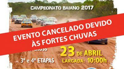 Adiado Campeonato Baiano de Velocidade na Terra, que estava marcado para 23 de abril