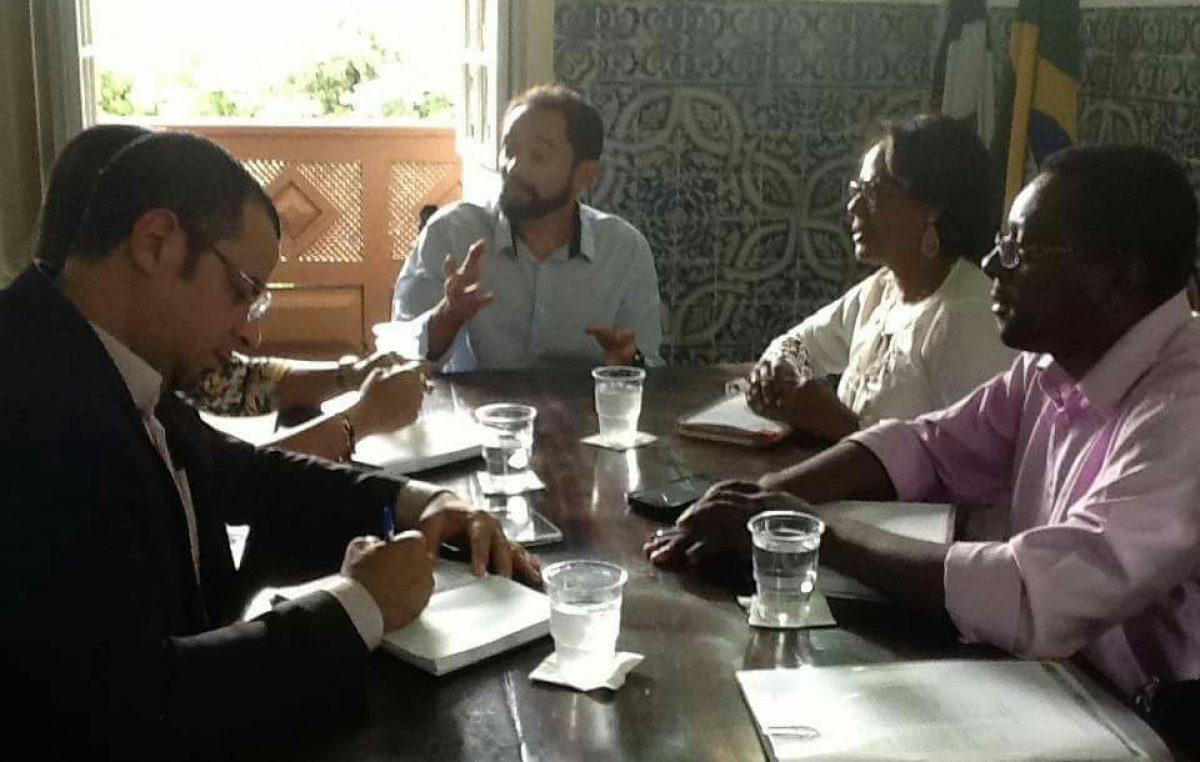 Representantes de São Francisco do Conde participaram de reunião no IPHAN