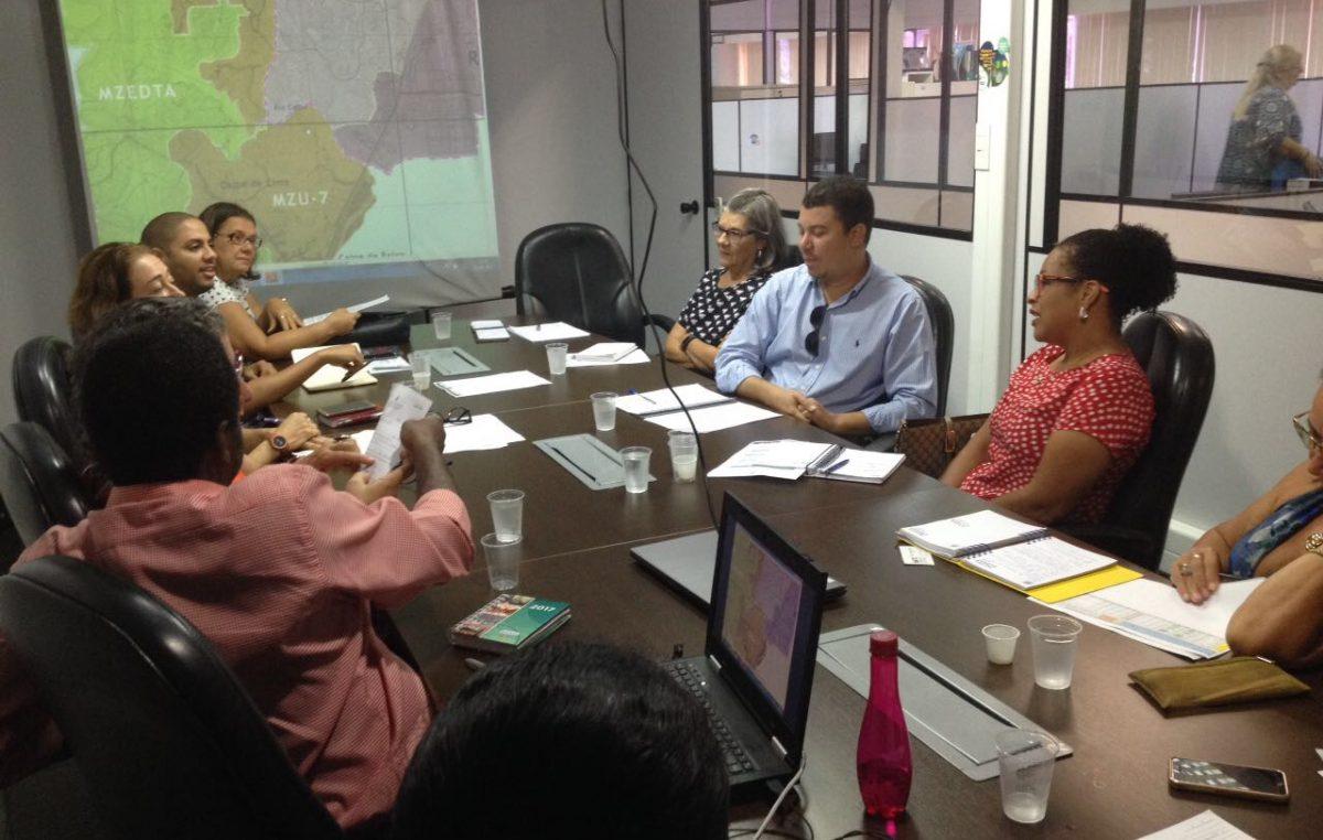 Secretarias de Planejamento e de Projetos Estratégicos estiveram reunidos com a Secretaria de Desenvolvimento e Urbanismo da Bahia