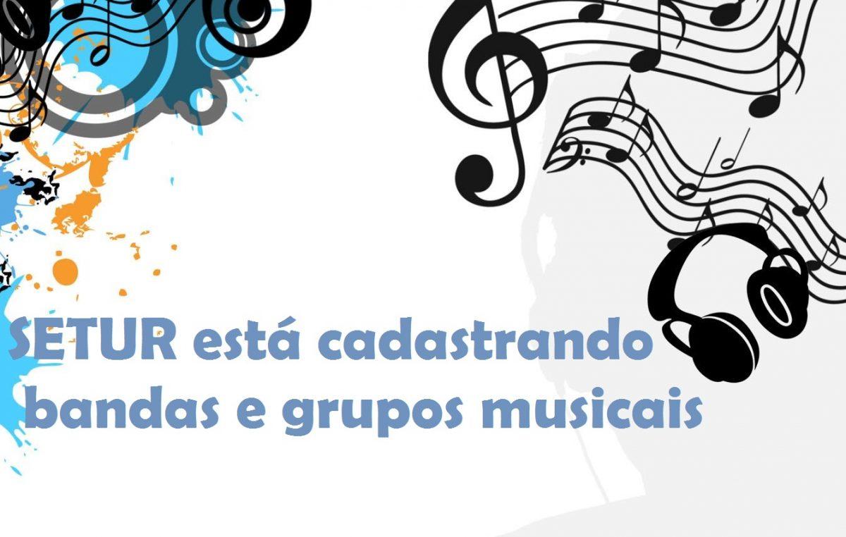 Secretaria de Turismo prorroga o cadastramento de bandas e grupos musicais