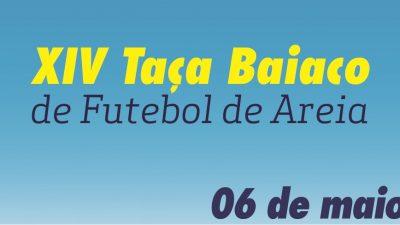 Uma nova data foi marcada para a realização da XIV Taça Baiaco de Futebol de Areia