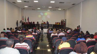SDHCJ promoveu palestra sobre Enfrentamento à Mulher Vítima de Violência
