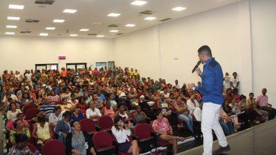 Reunião do Educa Chico lota a Câmara de Vereadores