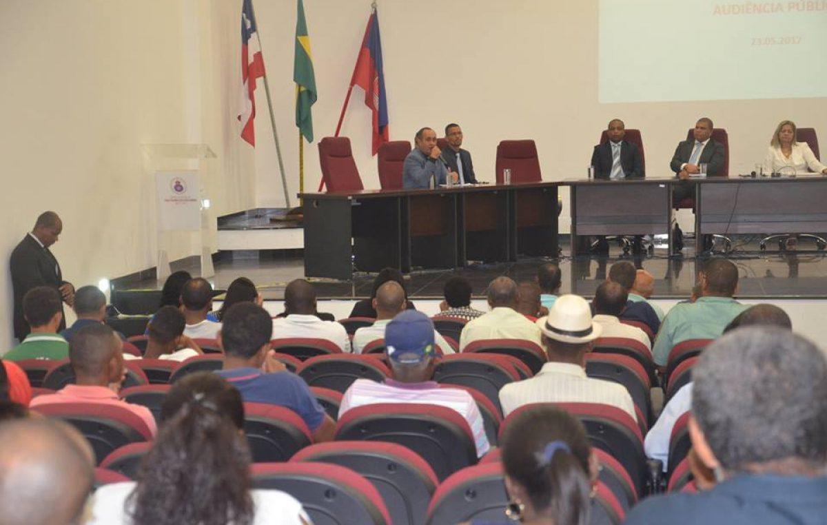 Audiência Pública prestou esclarecimentos sobre a regulamentação da atividade de taxistas