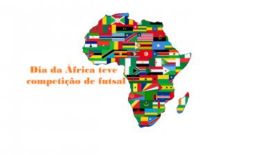 Dia da África teve competição de futsal no Baiacão, no último domingo (21)